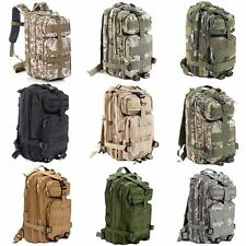 30L Hiking Camping Bag Army Military Tactical Trekking Rucksack Backpack Outdoor