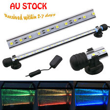 Aquarium Light LED Fish Lamp Tank Lighting RGB Bar Submersible 28 38 48 57 CM
