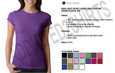 Next Level T Shirt 6000L Simple Women's Poly/Cotton Tee NEW S-2XL