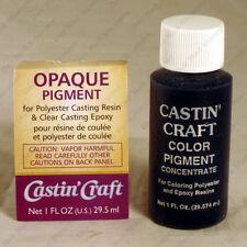 Castin'Craft Opaque PIGMENT colorant for Polyester or Epoxy Casting Resin 1 oz