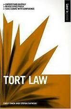 TORT LAW (LAW EXPRESS), EMILY FINCH, STEFAN FAFINSKI, Used; Very Good Book