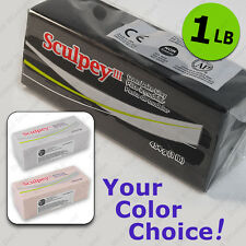 SCULPEY III oven-bake polymer modeling clay (Sculpey 3) ONE POUND 1 LB (454g)