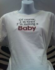 Funny maternity shirts pregnancy announcement tshirts new maternity clothes top