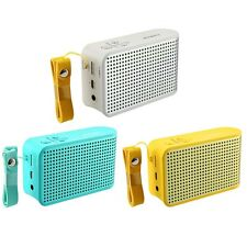 Portable Speaker Handsfree Wireless Stereo Bluetooth 4.0 NFC FM Radio MIC TF AUX
