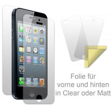 Screen Protector front and rear Apple iPhone Sony Alcatel Clear Matte Protector