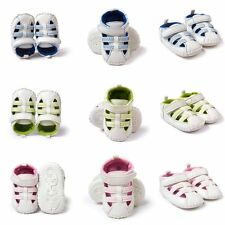 Infant Baby Girl Boy Summer Anti-Slip Soft Sole Crib Shoes Toddler Sandals 0-18M