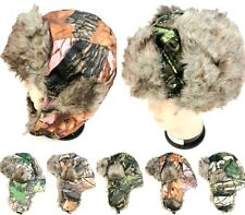 Real Woods Tree Camo Camouflage Hunters Bomber Trapper Winter Hat BOGO 30% OFF