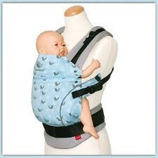 New Manduca Baby Carrier - Limited Edition Birdie Sparkling Blue - Free Express