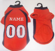 Denver Broncos Polar Fleece Dog Coat
