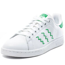 adidas Stan Smith W Womens Trainers White Green New Shoes