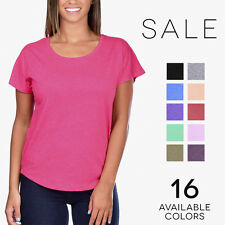 Next Level Tri-Blend Dolman Tee Vintage Soft Relaxed Fit T-Shirt 6760