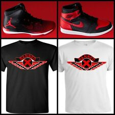 "EXCLUSIVE TEE /T-SHIRT TO MATCH THE NIKE AIR JORDAN BANNED BREDS! ""BANNED WING"""