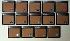 NFL Pick Team Bi-Fold Classic GameWear Team Synthetic Football Leather Wallets