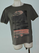 Quiksilver Mens Printed T Shirt - GREY - SIZE - M & XXL  - NEW