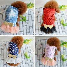 Pet Dog Clothes Cute Puppy Dress Skirt Princess Apparel New Fashion Fancy Lovely