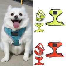 Safety Reflective Mesh Pet Dog Walking Collar Chest Strap Vest Harness Clothes