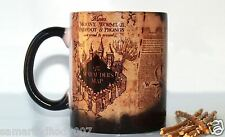 MARAUDERS MAP HARRY POTTER Magic Color changing Coffee Mug Cup Christmas Gift