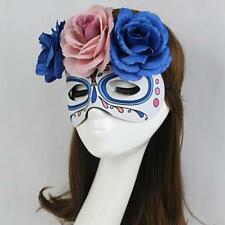 Venetian Masquerade Flower Mask Eye Halloween Party Eyemask Fancy Dress