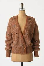 Anthropologie Jeweled Nymphs Cardi Sz M, Cropped Bee Cardigan By Charlie & Robin