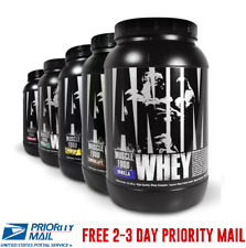 Universal ANIMAL WHEY Protein Isolate Powder 2 lb CHOOSE A FLAVOR