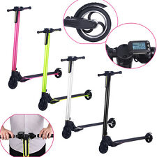 SMART LARGE BATTERY FOLDING ELECTRIC CYCLE SCOOTER FOR ADULT&KIDS BEST GIFT LOT
