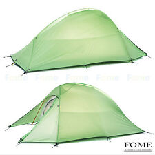 Naturehike 2 Person Double Layer Tent Seasons Ultralight Waterproof Tent 210T