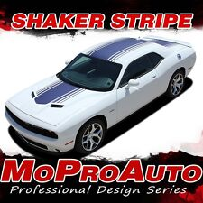 2016 Challenger Hood SHAKER Style Roof Trunk 3M Vinyl Graphic Stripes Decals