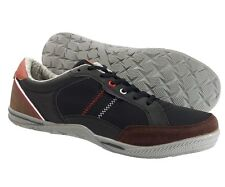 New Sedagatti Men's Athletic Sneakers Casual lace up Black Brown Fashion Shoes