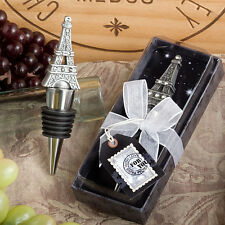 From Paris With Love Collection Eiffel Tower Wine Bottle Stopper  Favors