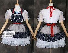 M-3291 S/M/L/XL/XXL Gothic Lolita Maid Cat Witch Dress Cosplay costume