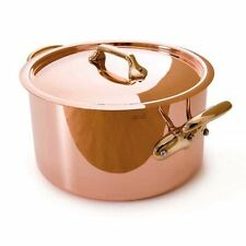 Mauviel Cookware M'Heritage 150B Copper-Stainless Stewpan with Lid