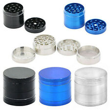 Mini 4 Layers Metal Tobacco Crusher Hand Muller Smoke Herbal Herb Grinder Cool