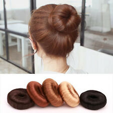 Women's Hairdressing Hair Styling Tool Bun Maker Ring Donut Shaper Hair Styler