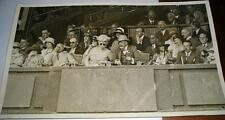 GENUINE ORIGINAL PRESS PHOTOGRAPH 1930 KING EDWARD MEN'S FINAL WIMBLEDON TENNIS