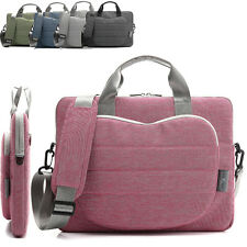 11.6 12 13.3 15.6 inch Laptop Bag Carrying Sleeve Case Shoulder Messenger Bag