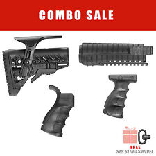 Fab Defense Collapsible Buttstock & Handguard & Handle & Forgegrip -Mil-SPEC-KIT
