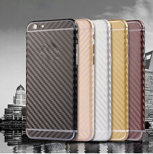 Front & Back Full Carbon Fiber Wrap Cover Sticker Protector For iPhone 5G/6/Plus