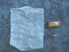 Vintage O.S. Glow Plug  New In Box with paperwork from Ogawa Model Mfg.Rare
