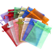 "50/100 4""x6"" Organza Wedding Party Favor Gift Candy Bags Jewelry Pouch"