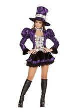 Women's Alice in Wonderland Madhatter Tea Party Vixen Halloween Costume