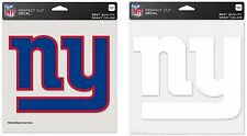 NFL New York Giants Wincraft Color or Clear Perfect Cut Decal NEW!