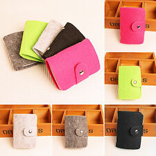 Portable Pouch ID Credit Card Wallet Mini Slim Holder Organizer Case Bag Pocket
