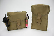 AAT Coyote Brown Pouch IFAK Enhanced GP MOLLE Medical Spec USA Made