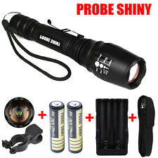 5000LM XM-L T6 LED 18650 Tactical Flashlight Torch Lamps + 18650 Battery/Charger