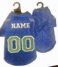 Seattle Seahawks NFL Polar Fleece Dog Coat