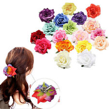 1pcs Wedding Party Bridal New Women Bridesmaid Rose Flower Hairpin Hair Clip