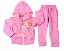 BE GIRLS PRINCESS TRACKSUIT HOODIE JACKET OUTFIT SET