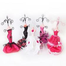 Mannequin Gown Dress Earring Necklace Bracelet jewelry Display Stand Holder