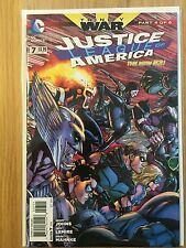 Justice League of America Vol 3 #7 NM 2013 New 52 Trinity War Part 4 of 6
