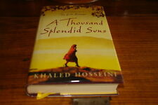 A THOUSAND SPLENDID SUNS BY KHALED HOSSEINI-SIGNED COPY